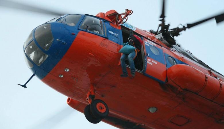 Ребенок родился во время полета на вертолете Ми-8 в Якутии