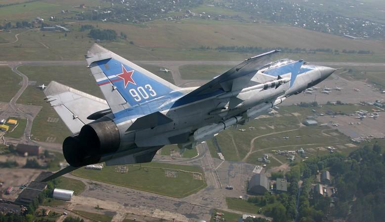 Истребители-перехватчики МиГ-31БМ подняли по тревоге в Красноярском крае