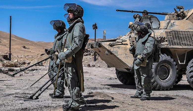Подрывы солдат на минах