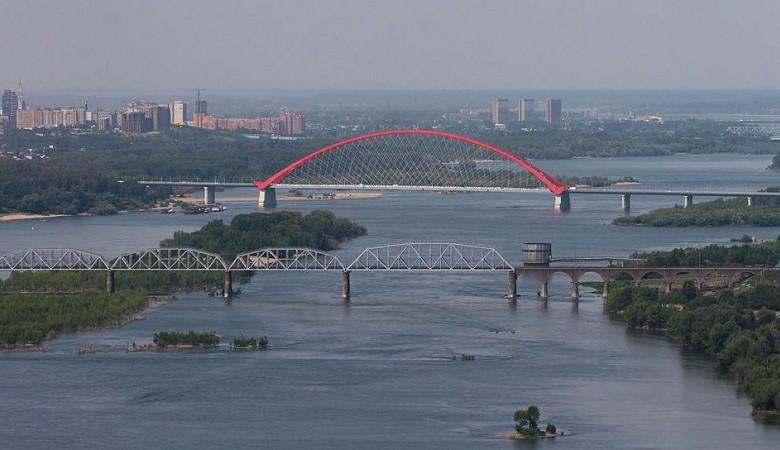 В Новосибирске началось строительство платного моста через Обь