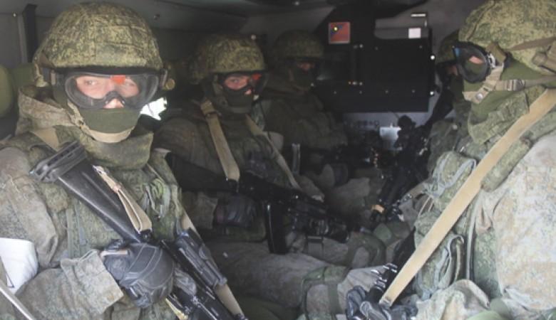 На полигоне в Алтайском крае мотострелки отработали противодействие мобильным группам диверсантов