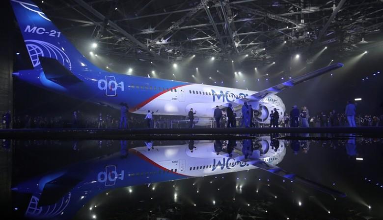 Первый полет самолета МС-21 ожидается в апреле