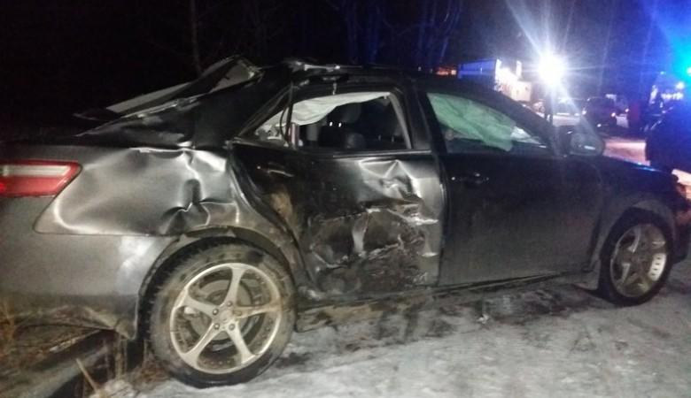 В Абакане водитель сбил троих человек из-за скользкой дороги