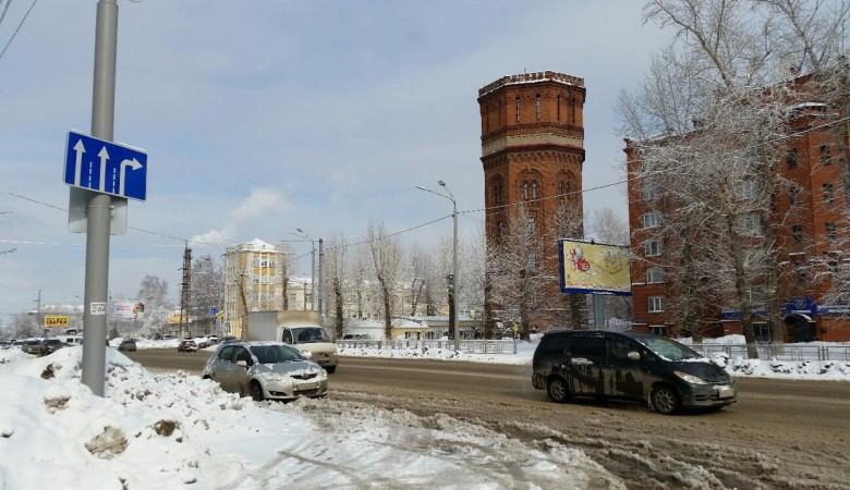 Снегопады в Томске признаны аномальными для города с конца XX века