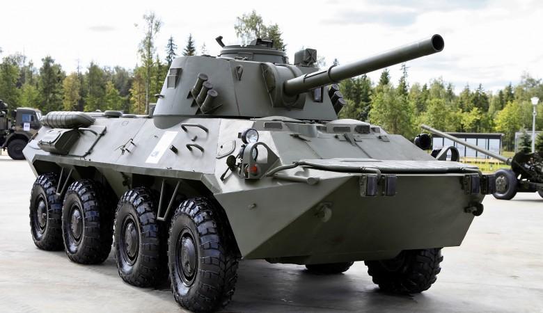 Новые орудия «Нона-СВК» поступили в дислоцированную в Туве мотострелковую бригаду