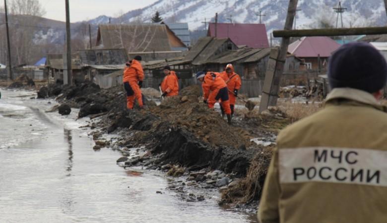 В Алтайском крае снят режим ЧС, введенный из-за паводка