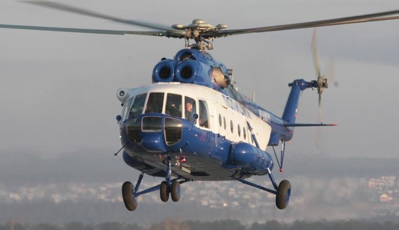 В Омске погорел склад с запчастями для вертолетов Миля
