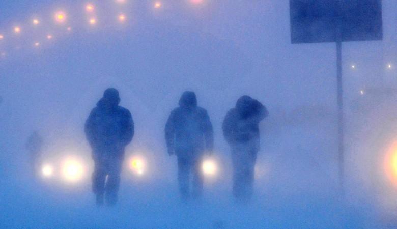 В МЧС предупредили о сильном ветре, снеге и метели в Северных районах Красноярского края