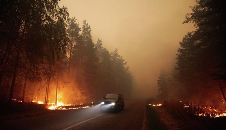 Природный пожар из Монголии уничтожил в Забайкалье 94 жилых дома, оставив без крова 306 человек - МЧС