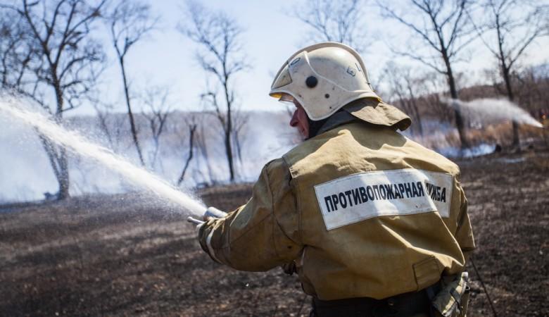 В Хакасии начал гореть лес, сезон пожаров открыт