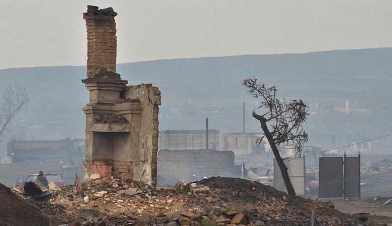 Глава Хакасии призвал земляков помочь пострадавшему от пожаров Забайкалью