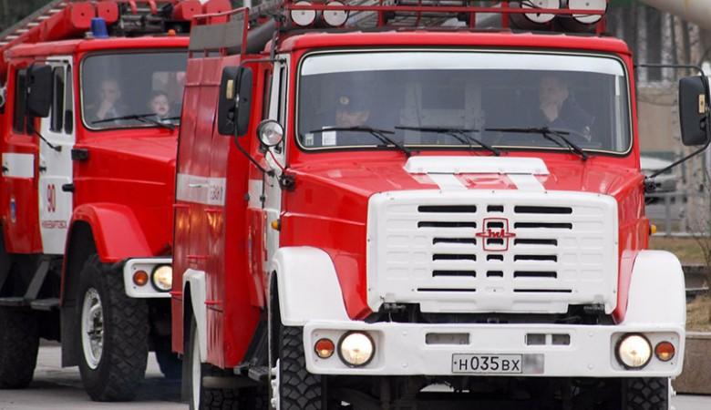 Междугородный автобус полностью сгорел под Кемерово
