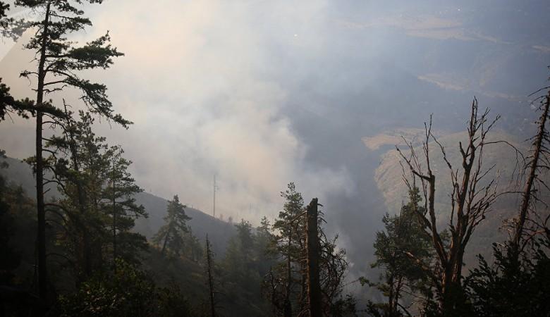 Дым от лесных пожаров в Красноярском крае накрыл Бурятию