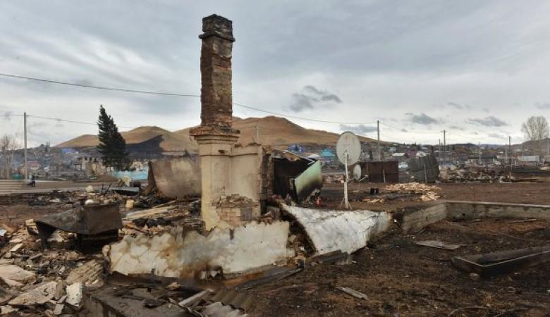 В Хакасии погорельцы не могут получить документы на дом, так как его построили на соседнем участке