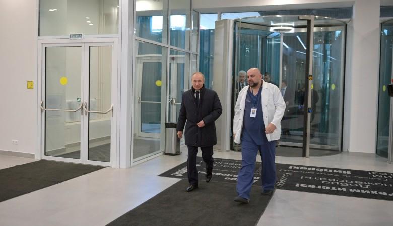 У главврача больницы в Коммунарке Проценко выявлен коронавирус