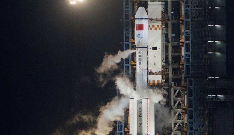 Китай успешно вывел на орбиту спутник для ведения совместных с Францией морских наблюдений