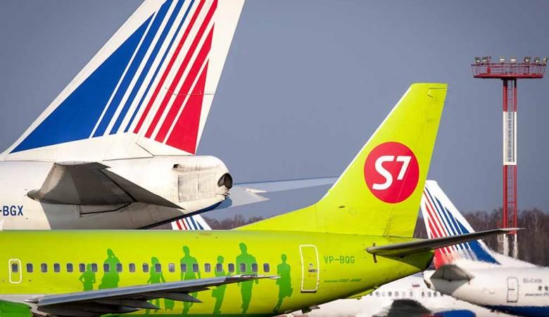 Самолет S7 поврежден в Омске в результате погрузки инвалида