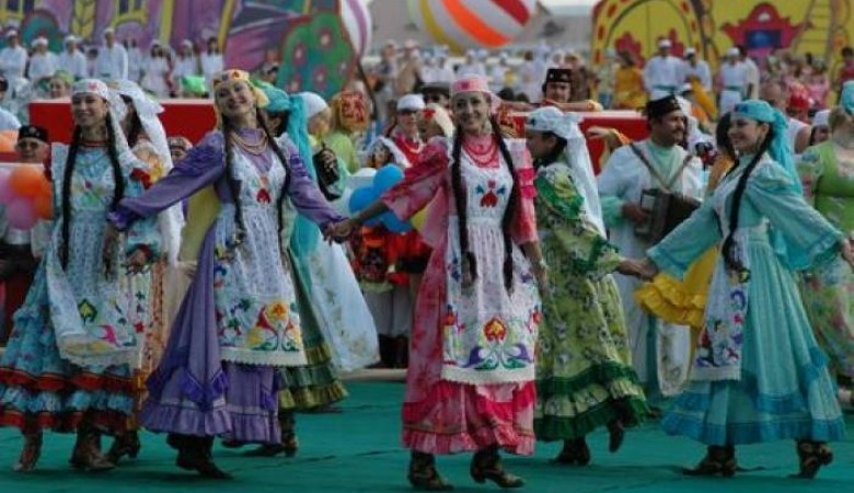 В Красноярске во время Сабантуя украли биотуалет главы Татарстана