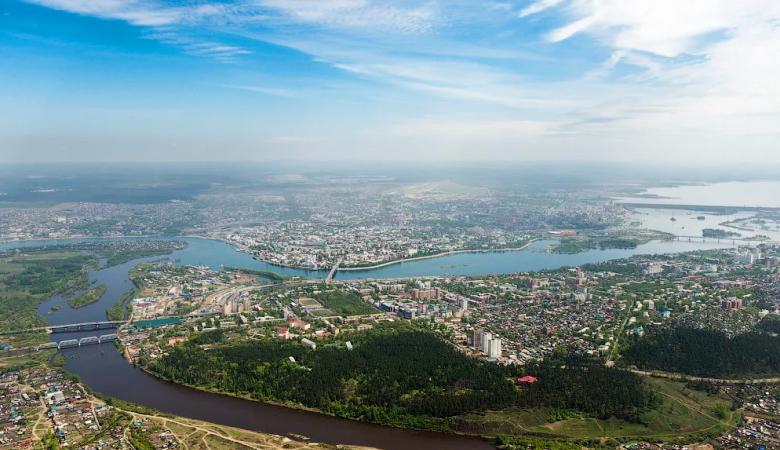 В Иркутске могут построить мост через Ангару на полуостров Кирова