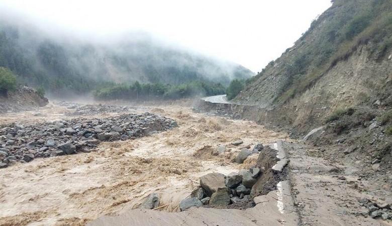 Около Алма-Аты идет эвакуация населения из-за селевого выброса