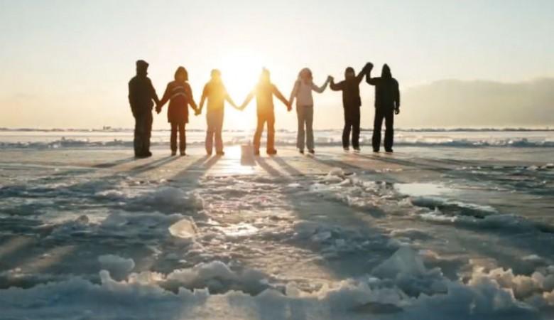 На Байкале выпилили Ледяную карусель создателям грозит уголовное преследование