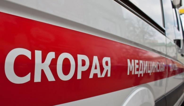 Две маршрутки столкнулись лоб в лоб на трассе в Бурятии, пятеро пострадали