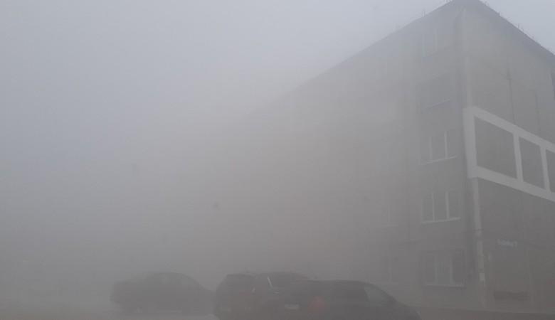 Смог окутал Кемерово, жители не видят соседних домов