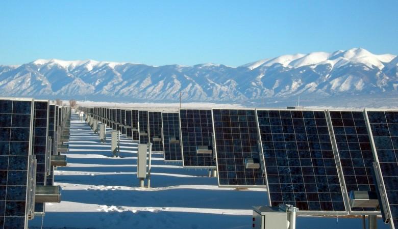 В Туве введены первые две солнечные электростанции