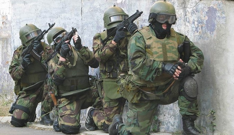 Спецназ в Новосибирске отработал операцию, ранее проведенную военными в Сирии