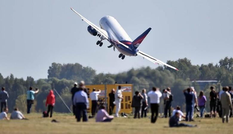 Вылет «Суперджета» из Новосибирска отложен из-за неисправности