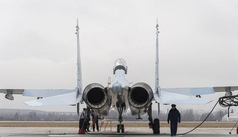 В России создаётся новая версия истребителя Су-30СМ
