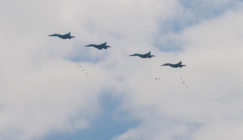 Липецкие военные летчики 4 августа в Новосибирске покажут высший пилотаж на Су-34
