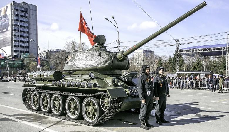 Отреставрированный Т-34