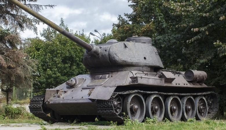 Танк Т-34 впервые проедет по главной улице Томска на Параде Победы