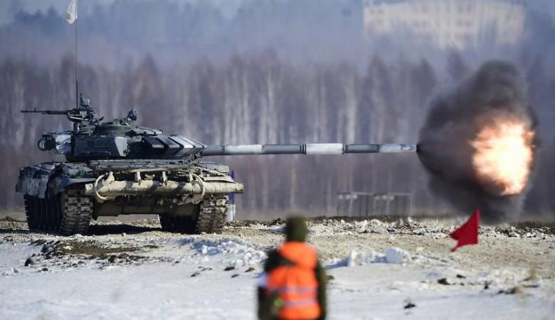 В Бурятии впервые начали готовить женский экипаж для танкового биатлона