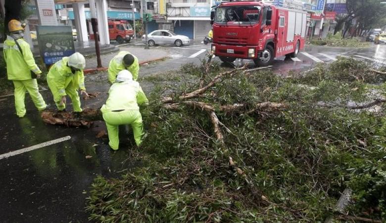 В Китае жертвами тайфуна «Соуделор» стали 26 человек
