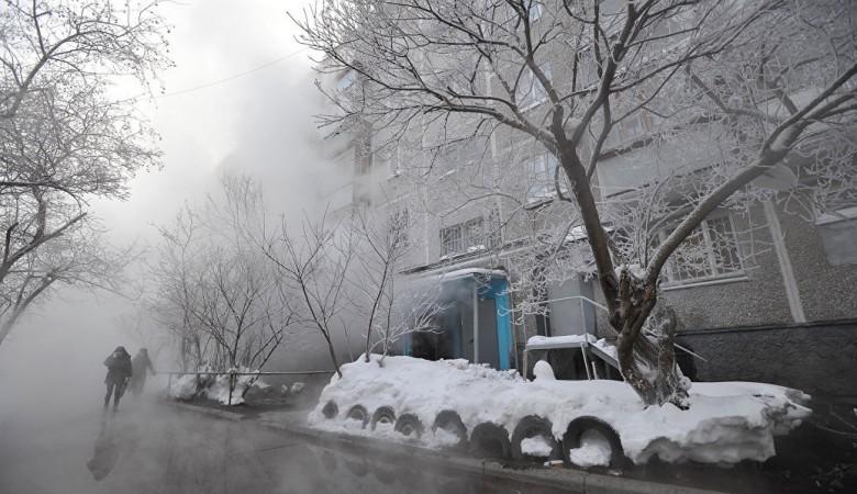 Жители Черногорска в Хакасии второй день сидят без тепла
