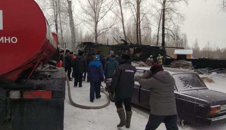 Обогреватель мог спровоцировать пожар с 11 жертвами в Томской области – власти