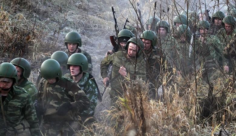 Тувинские горные стрелки уничтожили караван с оружием условного противника