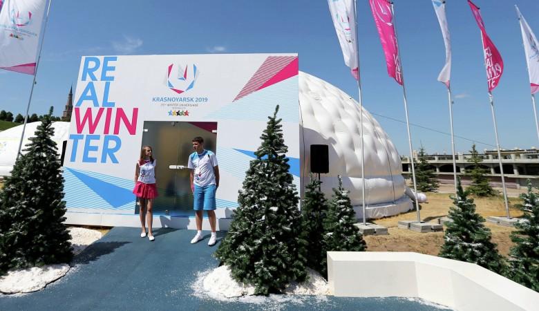Прошедшая в Красноярске Универсиада принесла какие-то результаты - губернатор