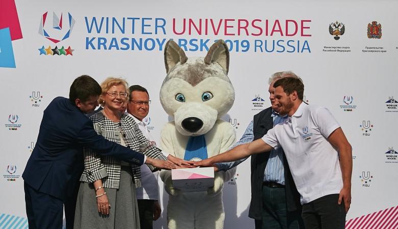Стартовал российский этап эстафеты огня зимней Универсиады-2019