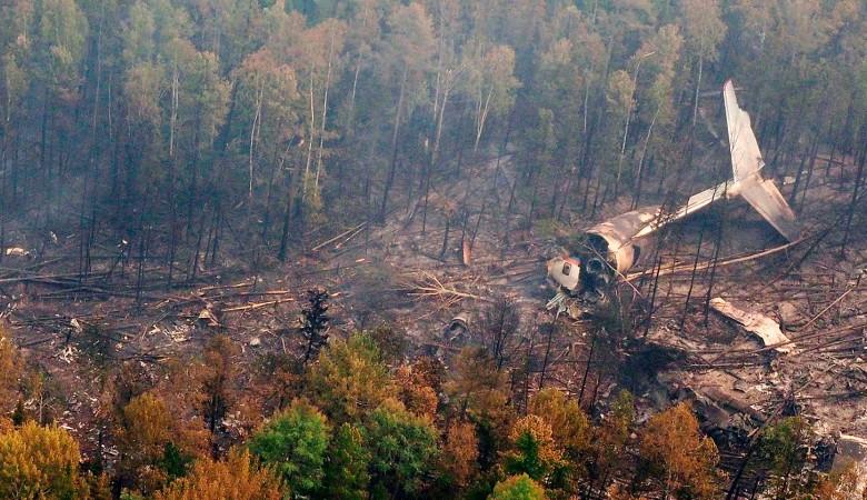 Выживших в результате крушения Ил-76 под Иркутском нет — источник
