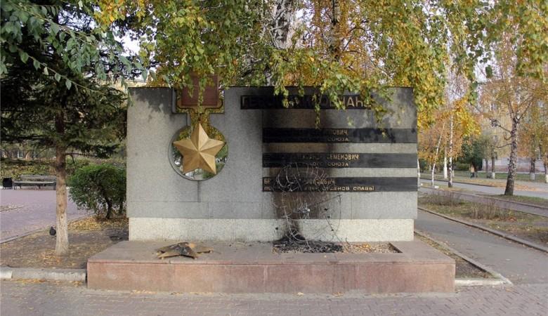 Полиция возбудила уголовное дело в связи с поджогом мемориала в Красноярске