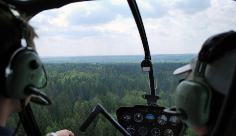 Вертолет совершил аварийную посадку в Красноярском крае