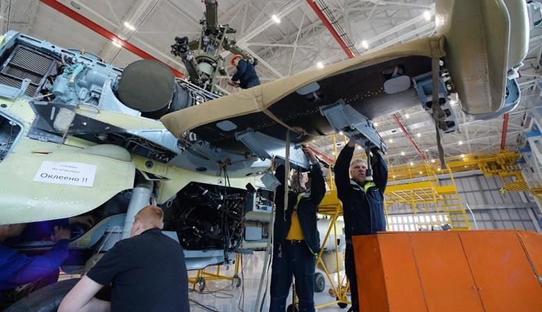 В Улан-Удэ началось производство легких вертолетов Ка-226Т для Индии