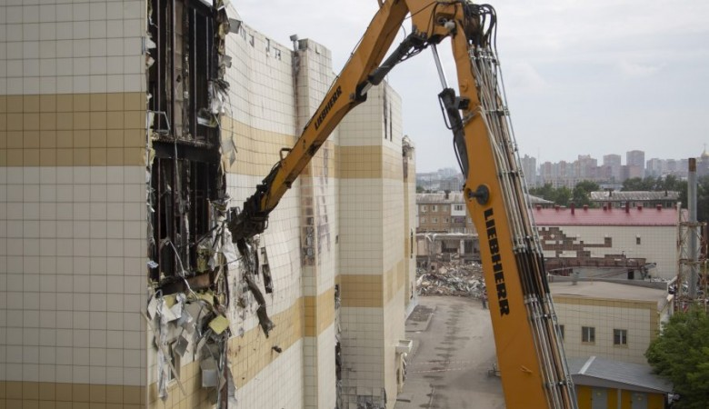 Бюджету Кемерова возместили затраты на снос сгоревшего ТЦ