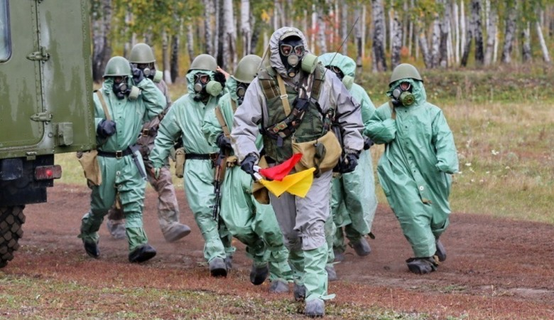 Учения войск радиационной, химической защиты стартовали в Алтайском крае