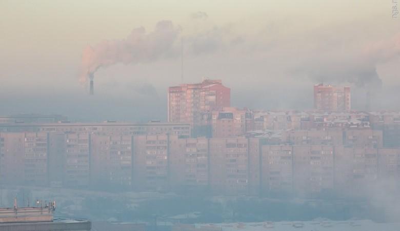 Воздух Красноярска загрязняют 13 тыс. печей и 6 тыс. источников на предприятиях
