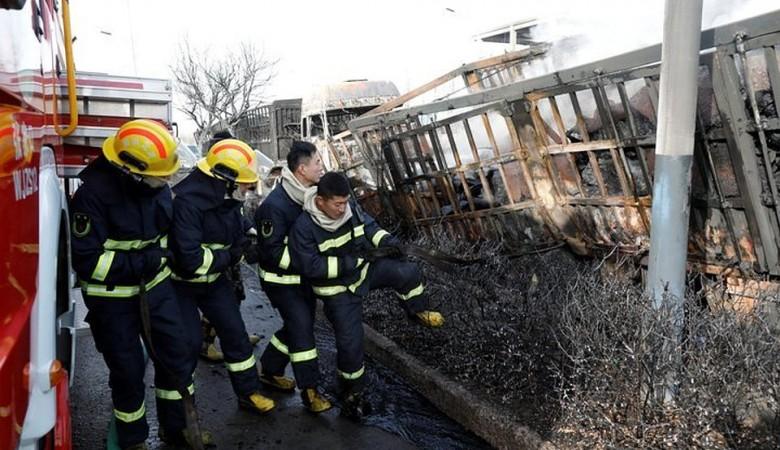 Более 2,8 тыс. жилых домов повреждены при взрыве на химзаводе в Китае - власти
