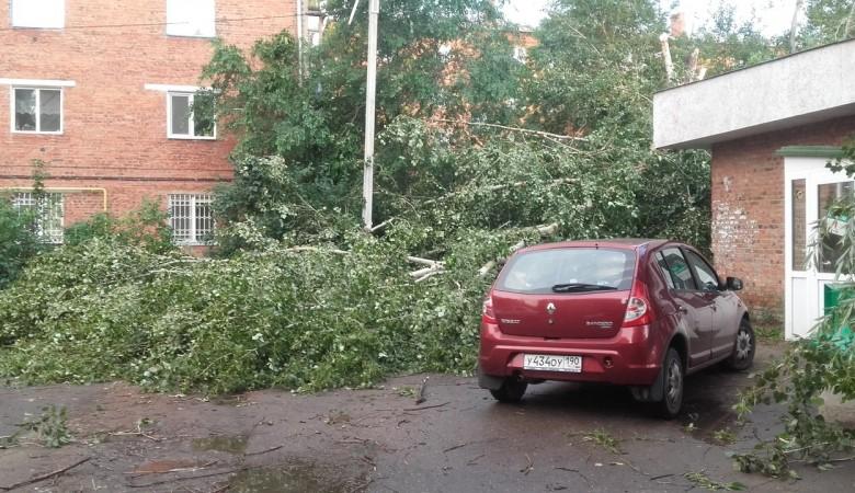 Шесть человек пострадали в результате урагана в Омске